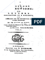 Dangerous Connections; Or, Letters Collected in a Society, and Published for the Instruction of Other Societies. Vol. 1 of 4.