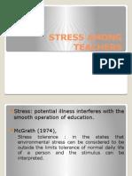 Stress Among Teachers