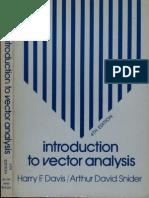 DavisSnider-IntroductionToVectorAnalysis