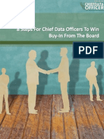CDO Europe - 8 Steps for CDOs to Win Buy-In From the Board