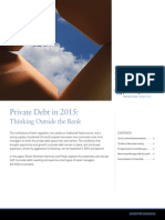 Private Debt in 2015