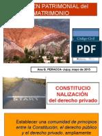 Régimen Patrimonial Del Matrimonio Jujuy 2015 Final