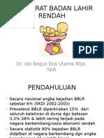Presentasi BBLR Dr. IBE