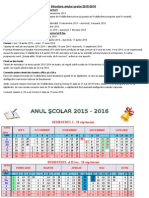 Calendar Sc Primar 20152016