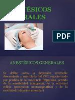 Uso de Anestésicos Generales