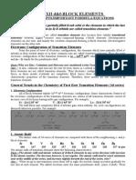 1 Basic Concepts d&F-block Class 12
