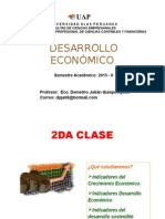 Indicadores de Desarrollo Económico