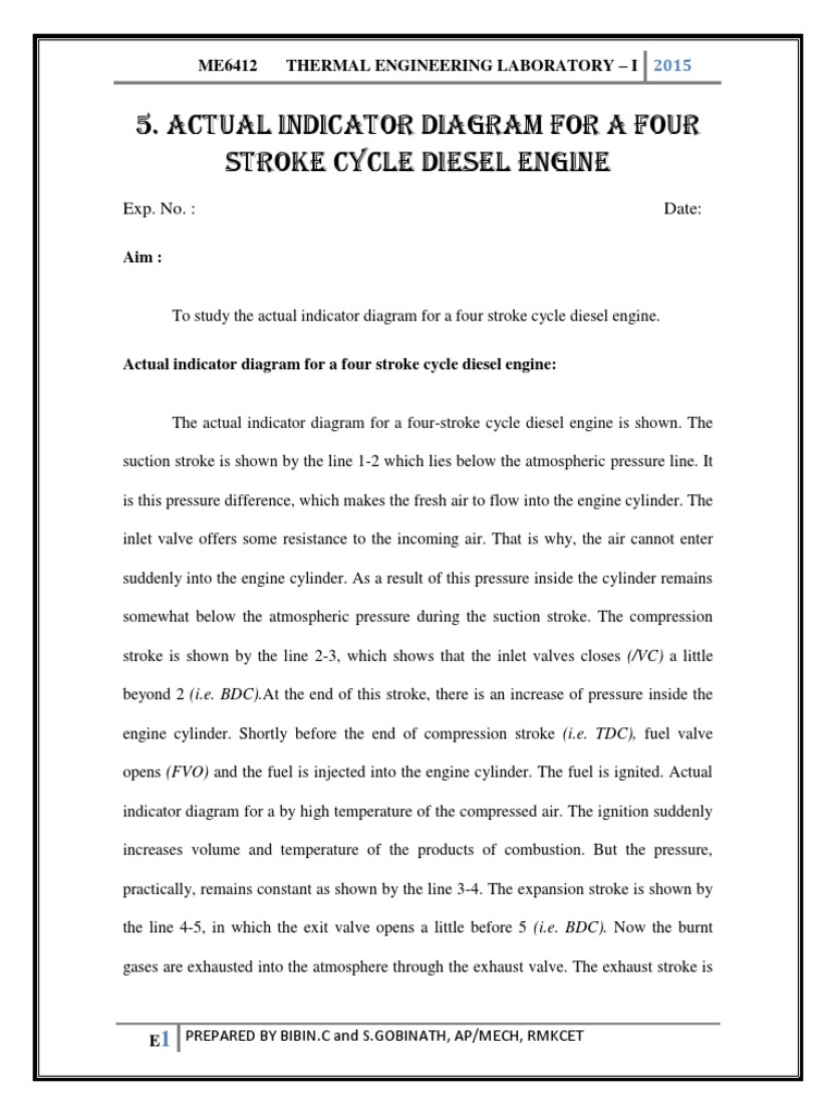 4 Stroke Diesel Engine Diagram Wiring Library Bodine Emergency Ballast 50b Actual Indicator For A Four Cycle Enginepdf