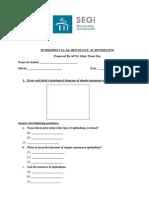 Histology Practical 1 Epithelium (2014)-Practical Manual