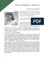 My Understanding of Radionics - Radionics and Energy by Meilya Devin MRadA