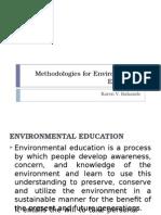 Methodologies for Environmental Education