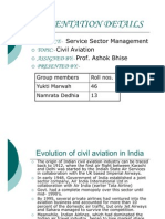 aviation indutry in india