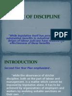 Code of Discipline