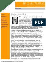 Claude Levi-Strauss - Antropologia.pdf