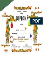 Diploma Sarbatoarea Toamnei