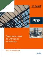 Panel Cubiertas y Entrepisos v09.602