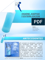 Higiene, Asepsia y Esterilizacion