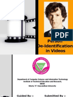 De Identification Seminar