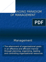 01 the Changing Paradigm of Management