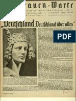Frauen-Warte 13. Jahrgang Heft 04 (1944-1945, 8 S., Scan, Fraktur)