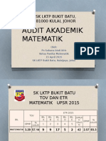 AUDIT AKADEMIK 15 APRIL 2015 PANITIA MATEMATIK.pptx