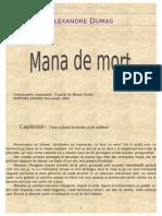 Alexandre Dumas - Mana de mort.doc