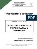 Topografia y Geodesia 2011 UCAN