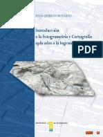 Introducción a La Fotogrametría y Cartografía Aplicadas a La Ingeniería Civil-UEX-MB