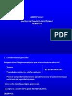 Tema 2 Tuneles Anexo - Modelo Geologico - Geotecnico y Ensayos