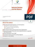 Accounting Methods Builder - Beyond the Basics