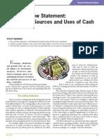 Financial Statement Analysis for Cash Flow Statement