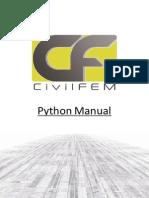 CivilFEM Python Manual