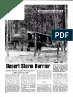 Desert Storm Harrier (Monogram 48) - SAM September 93