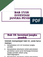 Chap17 Investasi Jangka Pendek