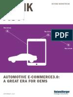 Roland Berger TAB Automotive e Commerce en 20141201