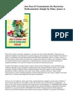 Alternativas Naturales Para El Tratamiento De Bacterias Resistentes A Mis Medicamentos Simply by Duke, James A.