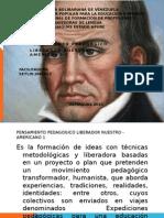 PENSAMIENTO PEDAGOGICO