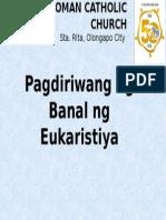 STA. RITA Mass Tagalog