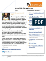 Asian MS Newsletter Issue 3, 2015