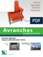 Avranches Communication #77 - automne 2012
