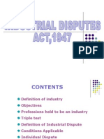 Industrial Dispute Act 1957