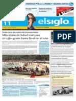 Edición Impresa El Siglo 11-10-2015