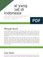 Mineral Yang Terdapat Di Indonesia