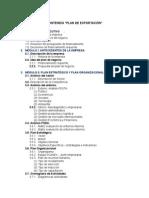 Estructura Plan Exportacion
