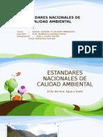 Estandares Nacionales de Calidad Ambiental