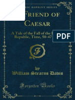 A Friend of Ceasar the Fall of the Roman Republic - William Dabis