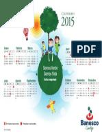 Calendario Bancario 2015 Banesco
