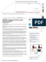 Folha Online - Ilustrada - Suicídio Real Alimenta Ficção Do Escritor Bernardo Carvalho - 28-09-2002