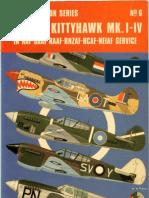 [aviation] - [Osprey] - [Aircam Aviation n°06] - Curtis Kittyhawk MKI-IV in RAF-SAAF-RAAF-RNZAF-RCAF-NEIAF Service
