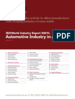 Automotive Industry in Australia Industry Report IBIS